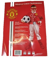 Boys Manchester United Muscleman Costume