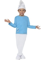 Boys Smurf Costume