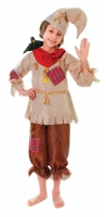 Childrens Wizard of Oz Scarecrow Costume