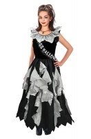 Girls Zombie Prom Queen Halloween Costume