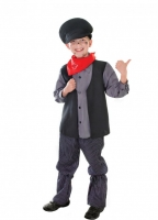 Victorian Child Chimney Sweep Boy Fancy Dress Costume