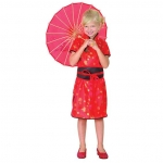 Kids Chinese Girl Fancy Dress Costume