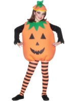 Children's Halloween Pumpkin Costume