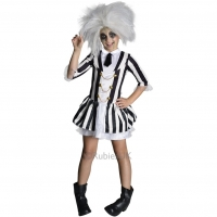 girls beetle juice halloween costume