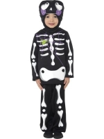 Cutie Skeleton Fancy Dress Costume