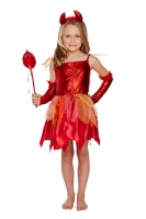 Girls Halloween Devil outfit 10-12 years