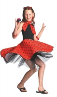Girls Rock n Roll Skirt 'Red'