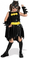 Girls Super Hero Batgirl Costume