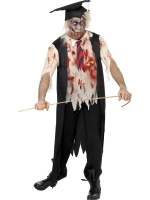 High School Horror Zombie Headmaster Costume