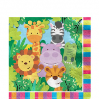 Animal / jungle friends Paper Napkins 20 pack