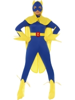 Ladies Bananaman Super Hero Costume
