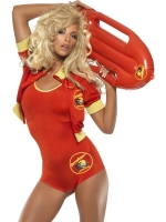 Ladies Baywatch Lifeguard Costume Plus Float