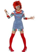 Ladies Child's Play 2 Chucky Costume