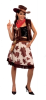 Ladies Cowgirl Costume