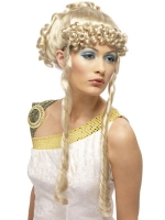 Ladies Greek Goddess Wringlets Wig