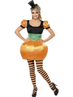 Ladies Halloween Pumpkin Costume