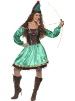 Ladies Robin Hood 4 Piece Costume