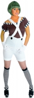 ladies Oompa Loompa Factory Worker Costume