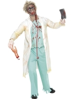 Men's Zombie Doctor Halloween Costume
