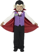 Mini Monsters Vampire Fancy Dress Costume