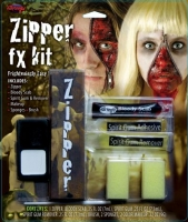 Halloween Fancy Dress fx zipper kit