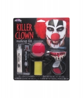 Halloween Fancy Dress killer clown make up kit