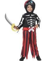 Pirate Skeleton Fancy Dress Costume