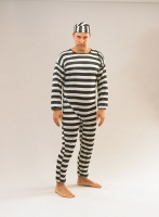 Prisoner Convict Costume