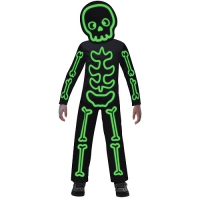 Glow in the Dark Stick Skeleton Costume