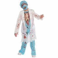Boys Halloween zombie surgeon doctor Costume