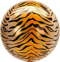 Orbz  Tiger  print jungle Bubble Balloon