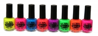UV nail polish paint for festivals, gay pride or any fun occasion