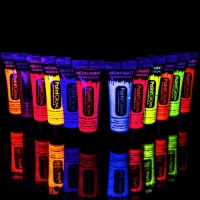 UV face and body paint for festivals, gay pride or any fun occasion