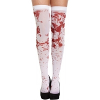 Halloween Blood Stained Hold Up Stockings