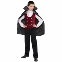 Boys Halloween Vampire Costume outfit