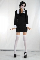 Wednesday Creepy School girl Fancy Dress