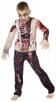 Zombie 3D Skeleton Costume