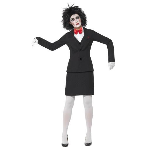 Cool  HorrorCreepySAWJIGSAW COMPLETE FANCY DRESS COSTUME SMLXXXXL