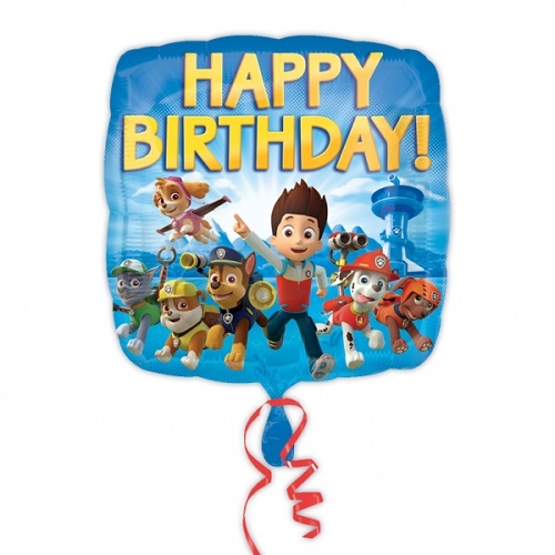 Paw Patrol Happy Birthday Foil Balloon Party Celebration Decoration 18
