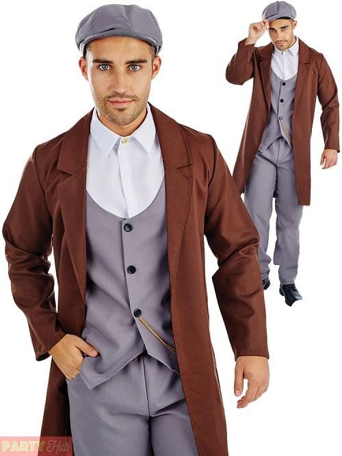 sc 1 st  Altered Image Fancy Dress & Mens Peaky Blinders 1920s Gangster Costume