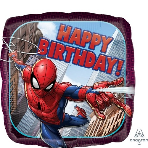 Spiderman Marvel Avengers Foil Balloon Boys Birthday Decoration Party Superhero