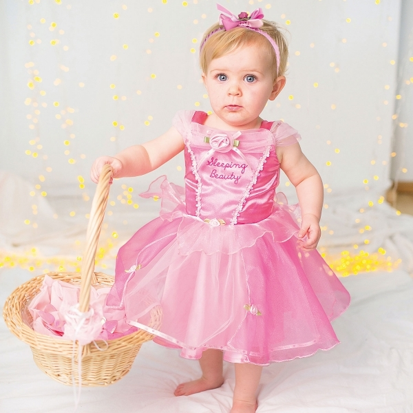 8b5df1ed0 Girls Disney Princess Baby Sleeping Beauty Fancy Dress Costume Click Here  for Larger Image