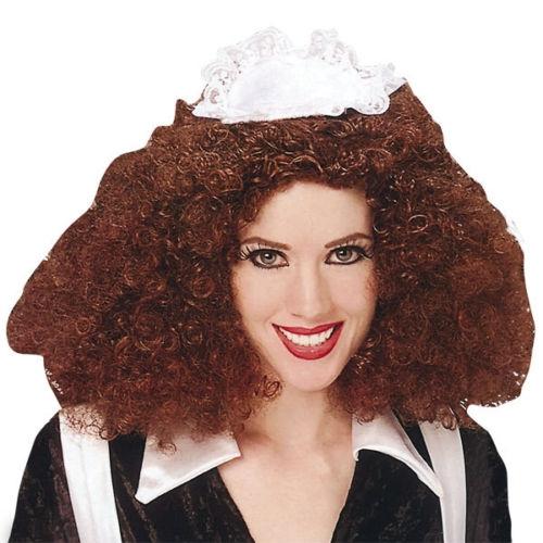 The Rocky Horror Show Fancy Dress Magenta Wig