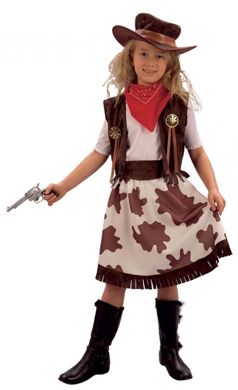 Girls Cowgirl Costume Click Here for Larger Image  sc 1 st  Altered Image Fancy Dress & Girls Cowgirl Costume