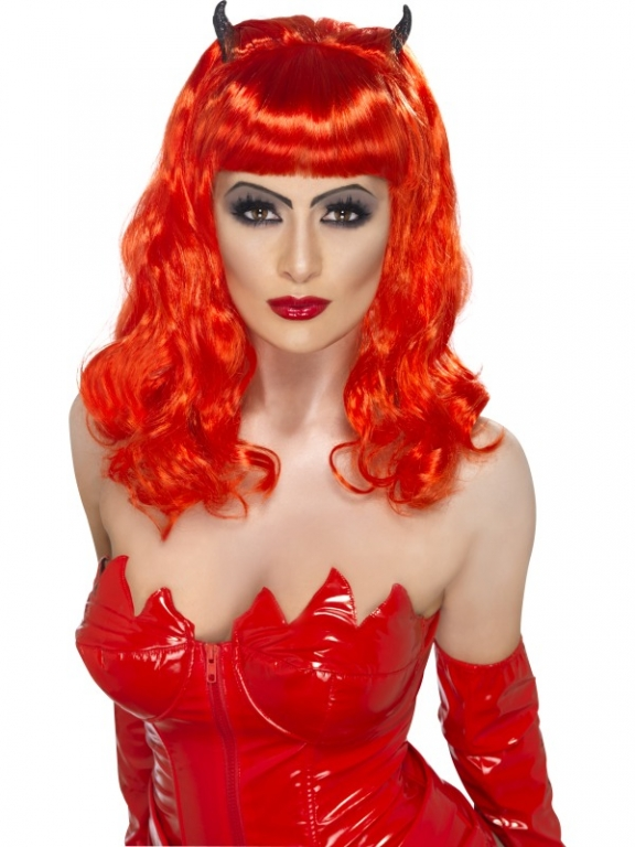 Holloween Red Wig 82