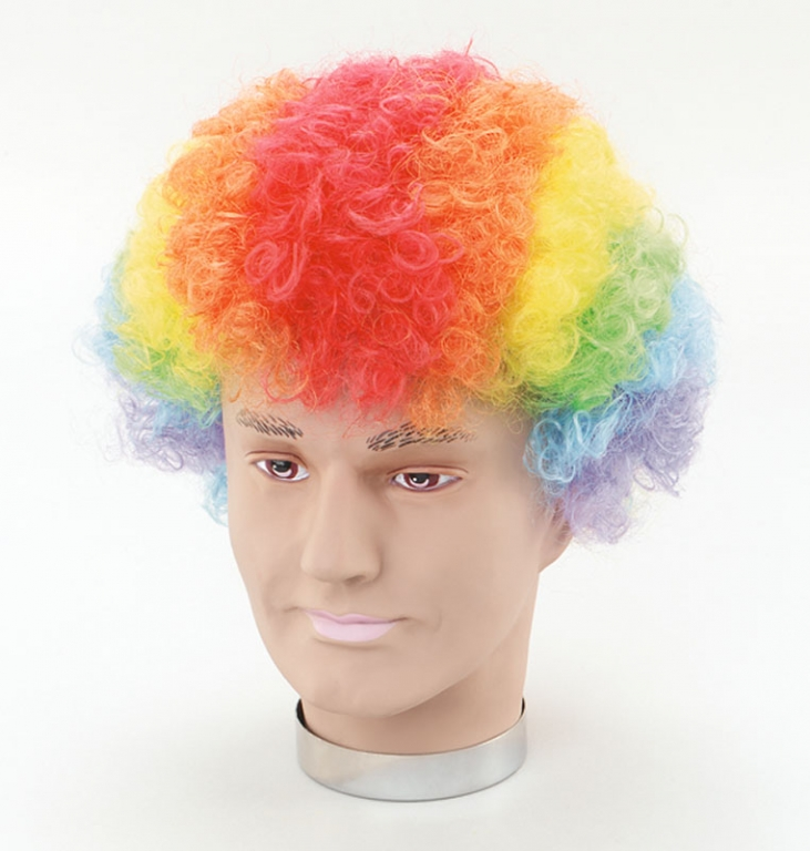 Rainbow Clown Wigs 29
