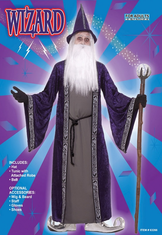 Wizard Costume u0027Purpleu0027 Click Here for Larger Image  sc 1 st  Altered Image Fancy Dress : cool wizard costumes  - Germanpascual.Com